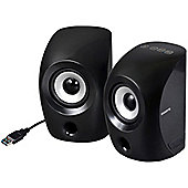 Gigabyte S3000 Speaker System - 4.5 W RMS - Portable - Black