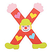 Tatiri Crazy Clown Letter X ((Red) Hearts)