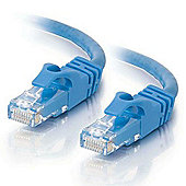 CTG 1m Cat6 550MHz Snagless Patch Cable (Blue): 83386