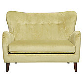 Julianne Loveseat Velvet Chartreuse