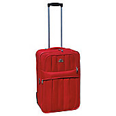 Beverly Hills Polo Club 2-Wheel Suitcase, Red Small