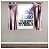 Dotty Blackout Lined Curtains - Pink