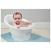 Shnuggle Baby Bath, White & Grey
