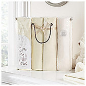 Clair de Lune 4pc Cot Bed Bale Cream