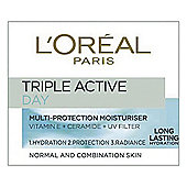 L'Oreal Paris Dermo Exp Triple Active Day Cream  N/Comb 50ml