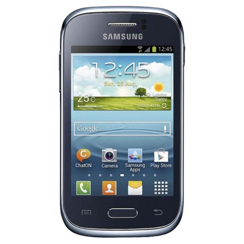 Tesco Mobile Samsung Galaxy Young Blue