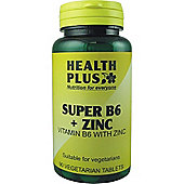 Health Plus Super B6 And Zinc 90 Veg Tablets