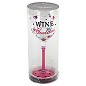 Wine Goddess Wine Glass