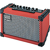 Roland Cube Street Red Battery Powered Stereo Amplifier
