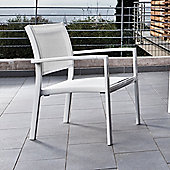 Varaschin Victor Relax Chair in White by Varaschin R and D