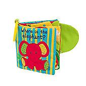 Mothercare Safari Soft Book