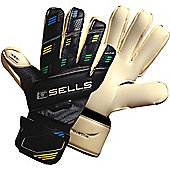 Sells Silhouette Elite Competition Goalkeeper Gloves - White