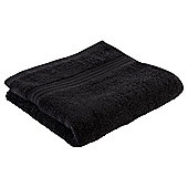 Tesco Hygro 100% Cotton Hand Towel, Black