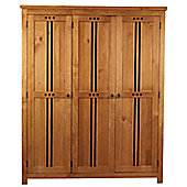 Sweet Dreams Curlew 3 Door Wardrobe - Oak