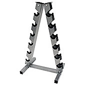 Bodymax 6 pair A Frame dumbbell rack