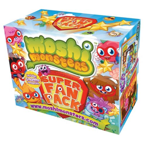 Moshi Monsters Super Fan Pack