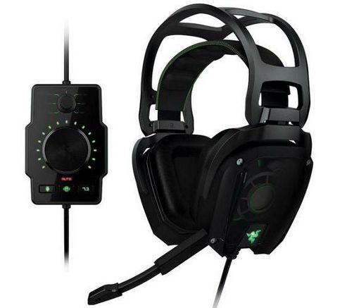 Razer Tiamat 7.1 Elite Gaming Headset - Black.
