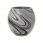 Casa Couture Glass Marble Effect Tumbler