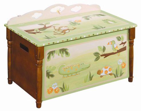 Guidecraft Jungle Toy Box