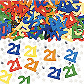 21 Confetti - Metallic Multicoloured