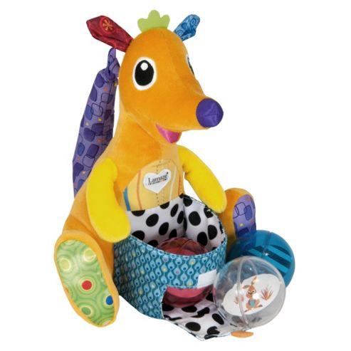 Lamaze Jumping Joey's Fill 'N Spill Baby Toy