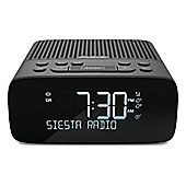 Pure Siesta S2 Bedside DAB/FM Digital Alarm Clock Radio in Graphite