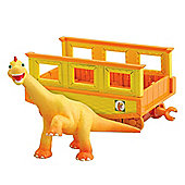 Tomy Dinosaur Train - Ned with Train Car
