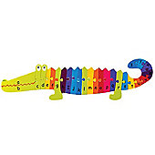 Orange Tree Toys Alphabet Puzzle Crocodile