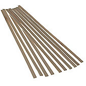 Balsawood 3.2 x 12.6 x 450mm Bulk Pack 10