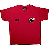 Canterbury Rugby Munster Heineken 2006 Cup Final Kids Tee Shirt - Red