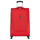 Revelation by Antler Havana 4-Wheel Suitcase, Red Large