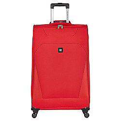 Revelation by Antler Havana 4-Wheel Suitcase, Red Large