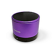 SONiVO SoundWave SW100 Rechargable Portable Bluetooth Speaker - Purple