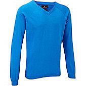 Stuburt Mens Essential V-Neck Sweater - Black