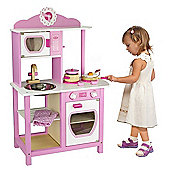 Viga Pink Princess Wooden Kitchen
