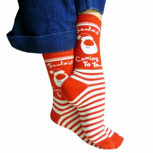 Adult Christmas Socks