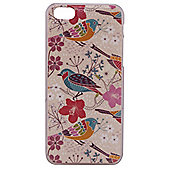 Tortoise Hard Protective Case, iPhone 5C, Bird and Floral design, Multi.