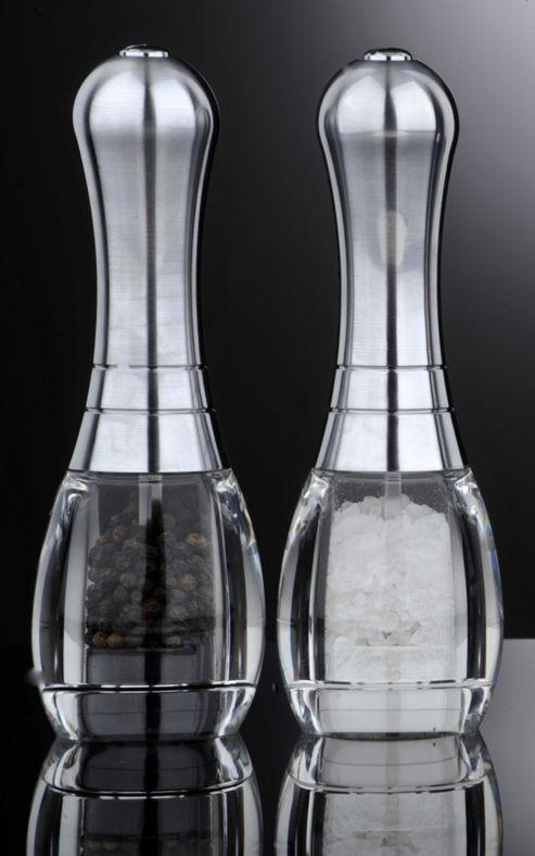 David Mason Design Skittle Salt and Pepper Mill Set