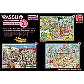 Wasgij - Destiny Collectors Box 1 - 3 x 1000pc Puzzle