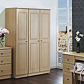 Welcome Furniture Corrib Single Wardrobe - Light Oak