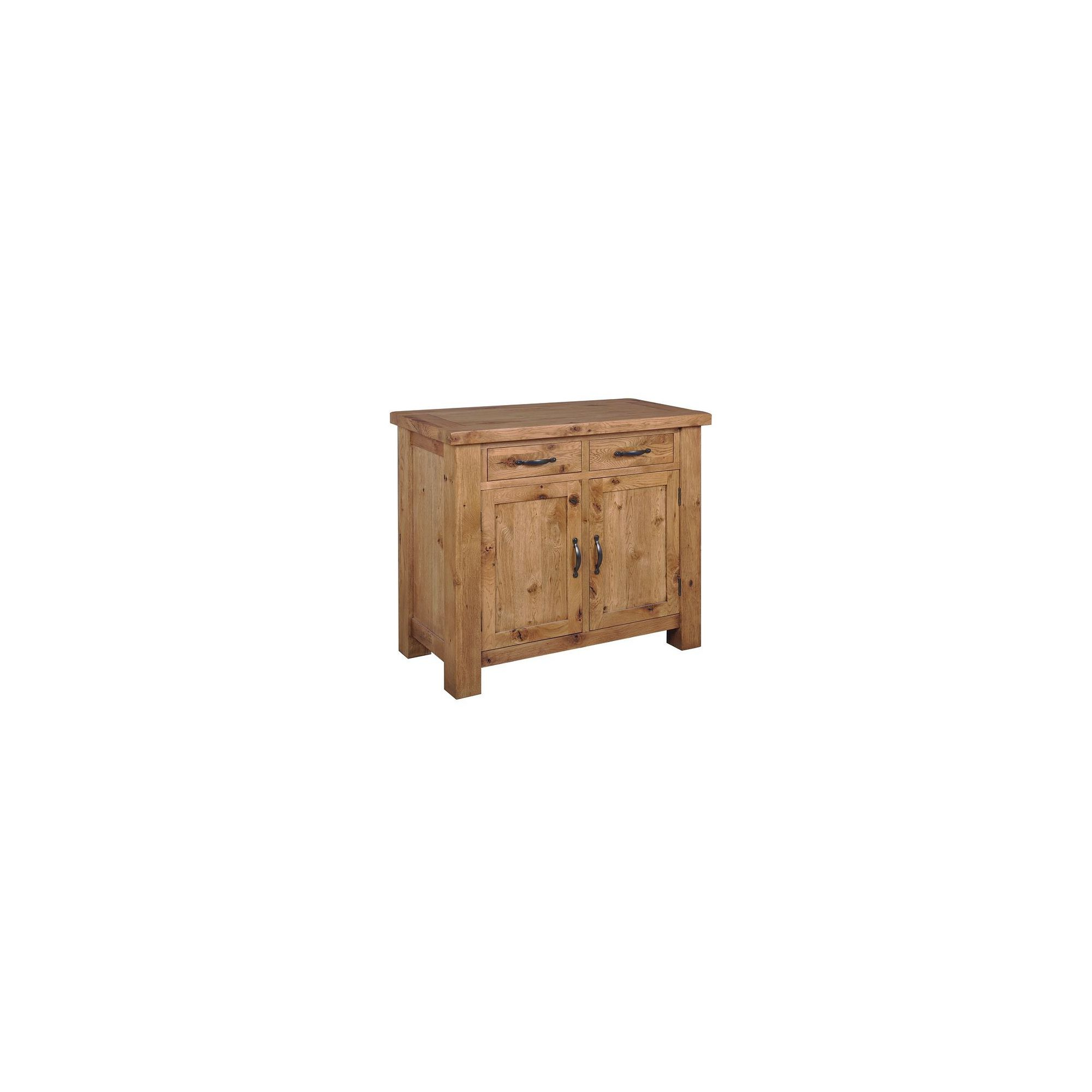 Origin Red Newland Oak Small Sideboard at Tesco Direct