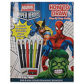 Marvel How to Draw Book