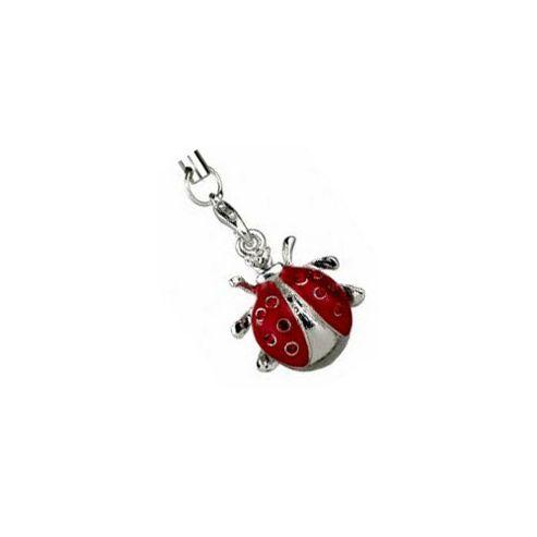 Ladybird Phone Charm