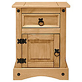 Cordoba Bedside Table, Solid Wood