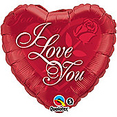 "Love You Balloon - 18"" Foil (each)"