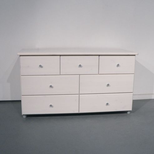 Oestergaard Missa Chest of Drawers 125cm - Honey lacquered