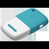 Blackberry 32920-201 Premium Skin for 8500/8900/9300 Smartphone - Turquoise/White