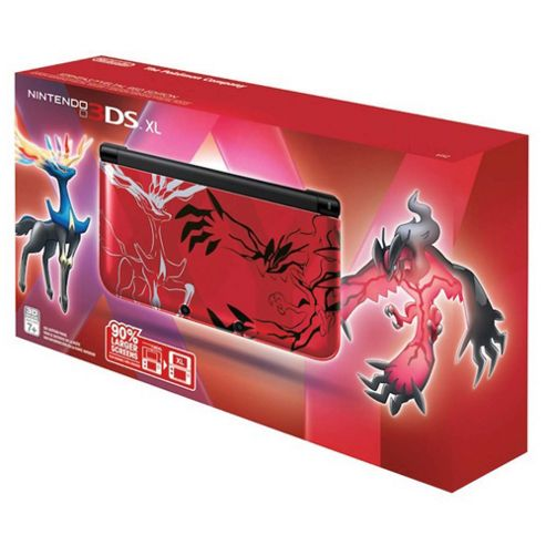 Nintendo 3DS XL Pokemon XY Red