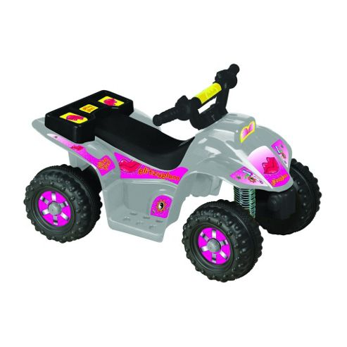 Kids Ride On Quad Bike + Rechargeable Batteries Charger