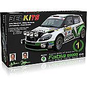 Belkits Skoda Fabia S2000 Evo Rally Car Model Kit 1:24 004